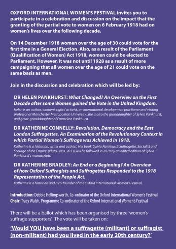 A5 flyer Licensed to Vote side2
