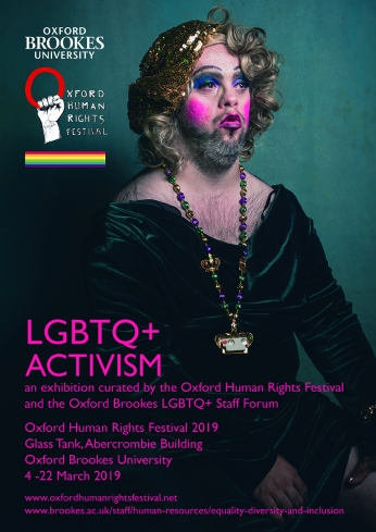LGBTQ+ exhibition poster e